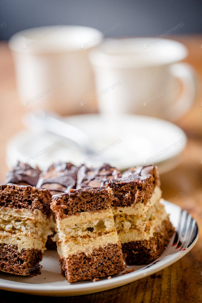 Homemade cappuccino cake - better than from bakery