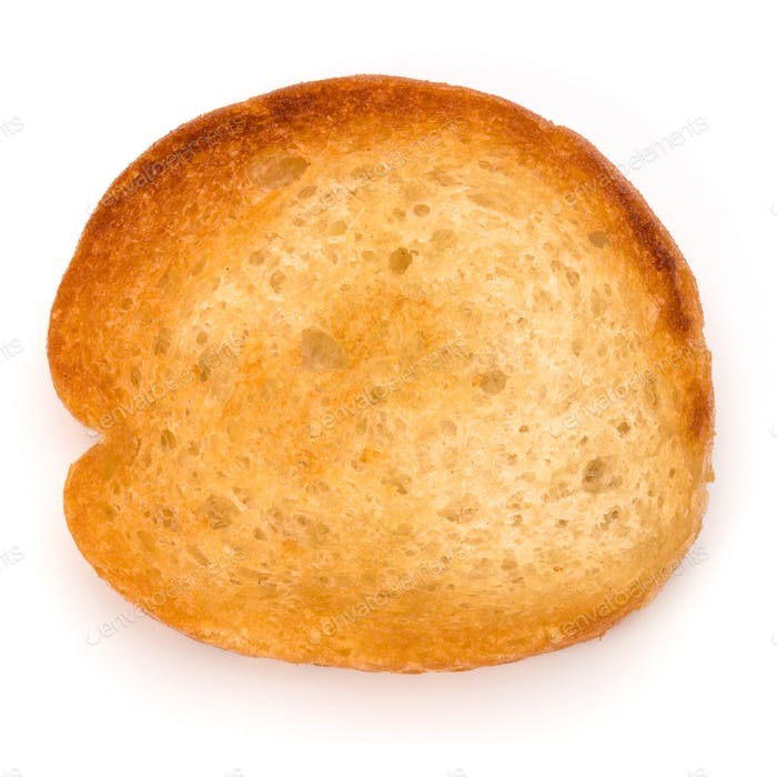 Knuspriges Brot Toast Scheibe