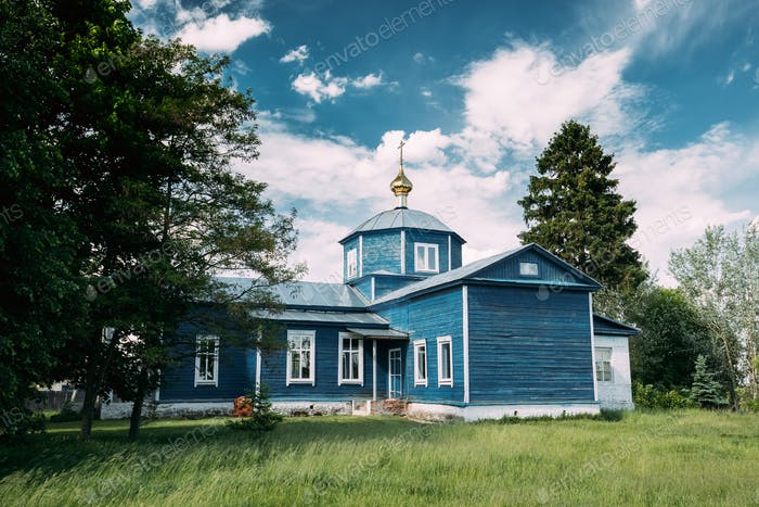 Golovintsy, Gomel District, Gomel Region, Belarus. Old Orthodox