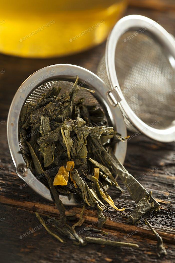 Organic Healthy Green Tea