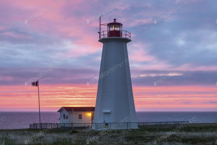 Cape Anguille Lighthouse, Newfoundland