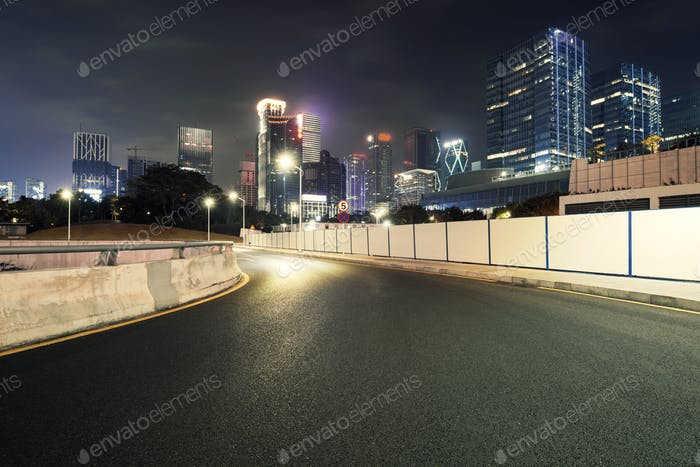 road and city