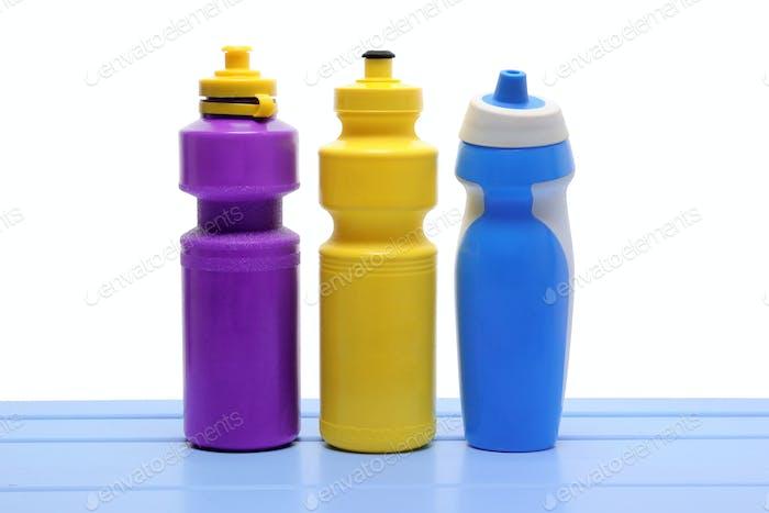 Kunststoff-Wasserflaschen