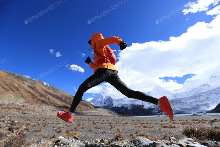 Running in high altitude mountains