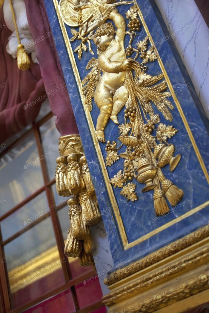 Rich decorations and gilding in Berlin Germany