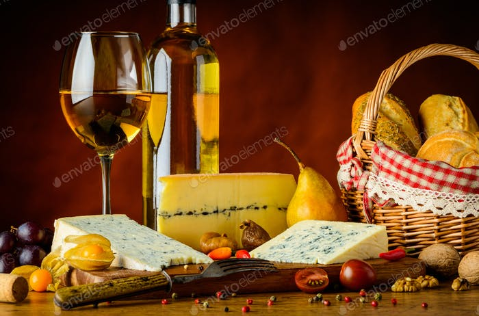 Blue Mold Cheese and Wine