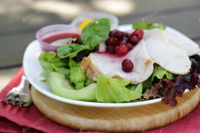 Salad with Turkey