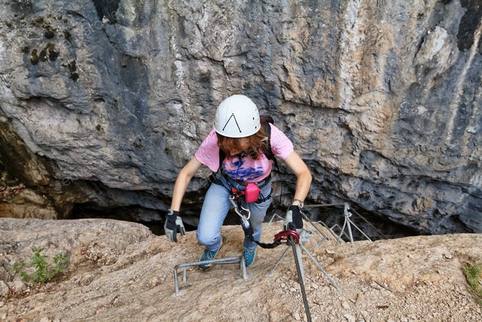 Klettersteig Giovannelli Schlucht