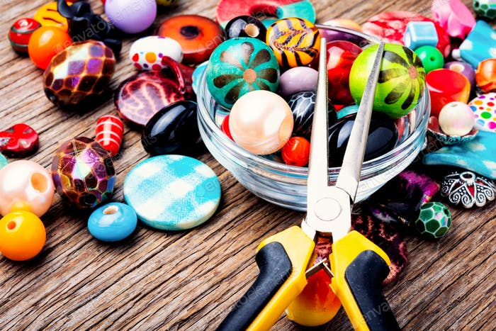 Bead for making jewelry