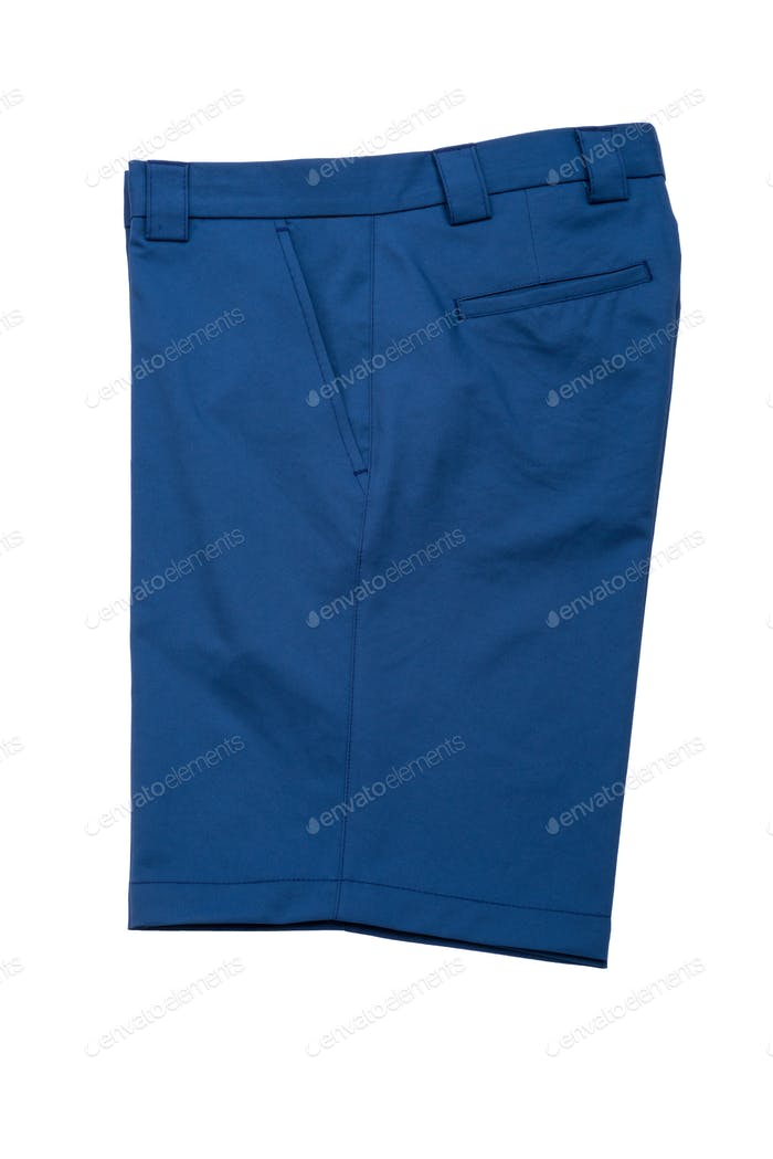 Short Blue Pants for Men
