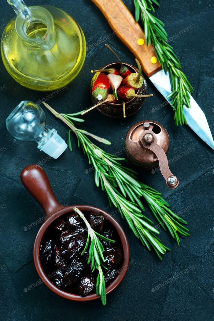 dry olives