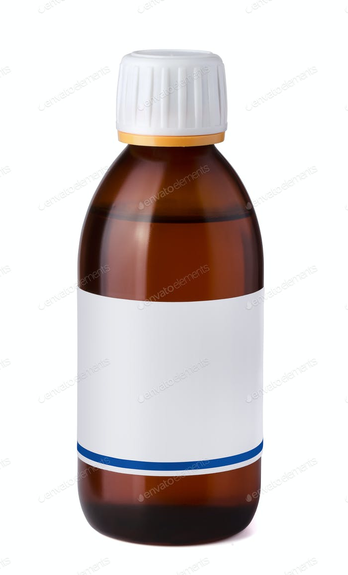 Syrup bottle