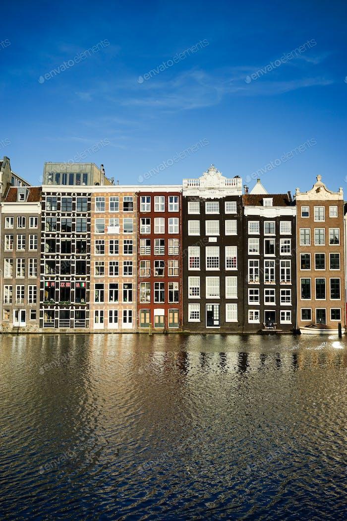 Amsterdam historische Gebäude