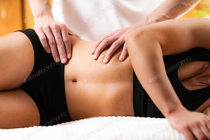 Osteopathy Treatment, Dorsal Manipulation.