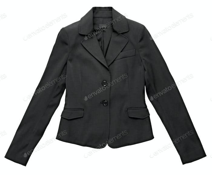 Stylish black jacket for a woman