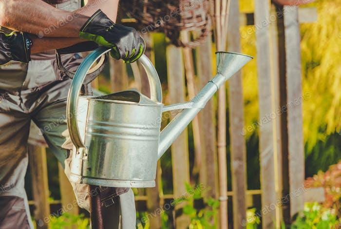 Gartenpflanzen Bewässerung