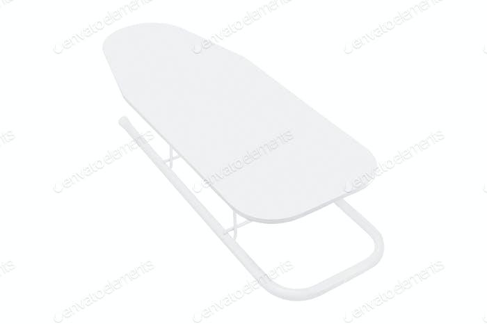Ironing Board Isolated On White Background