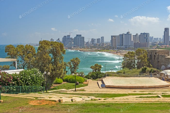 View of Tel Aviv from Jaffa