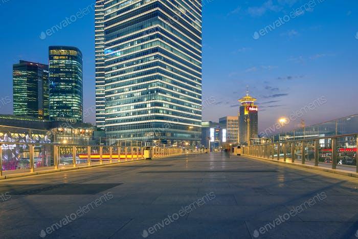 schön von Shanghai Nachtszene