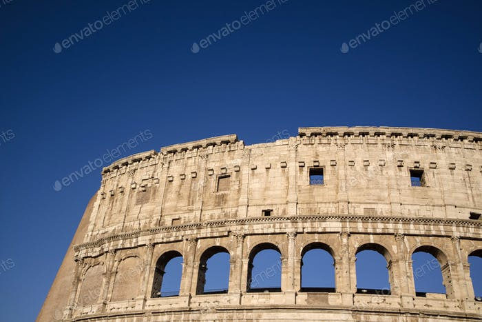 Constructive details of the Colosseum