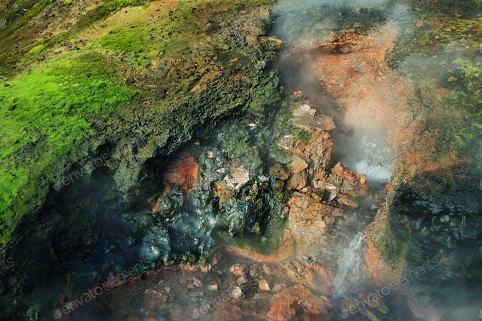 Deildartunguhver geothermal Spring