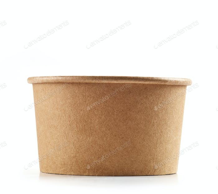 empty paper cup