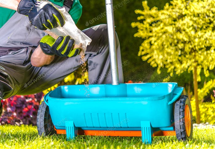Fertilize Turf by Gardener