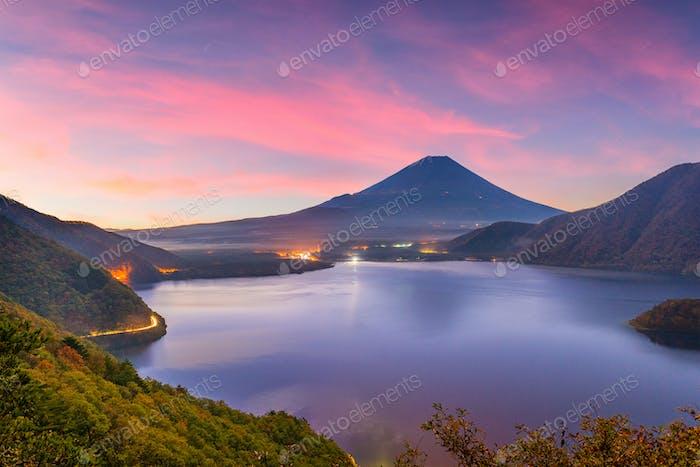 Mt. Fuji, Japan Herbst