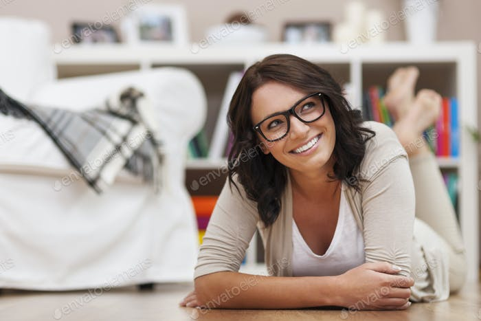 Fresh,natural and positive face of young woman
