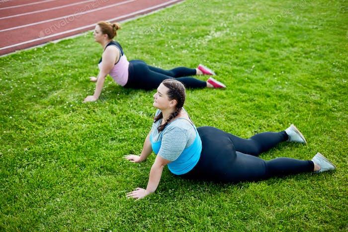 Gymnastics on grass