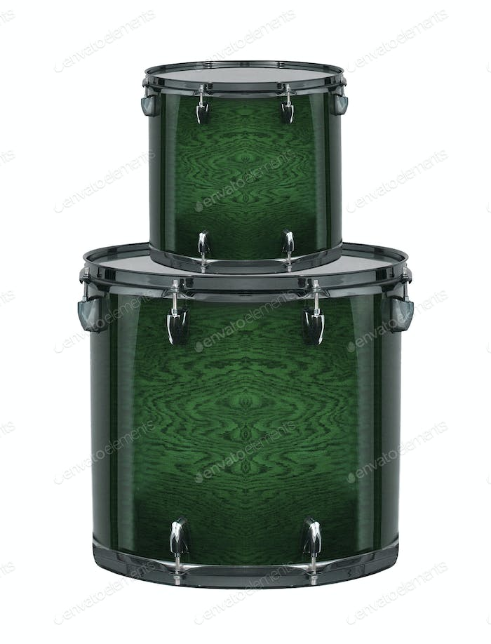 drums isolated