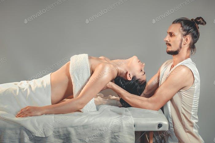 Massage stretching therapy