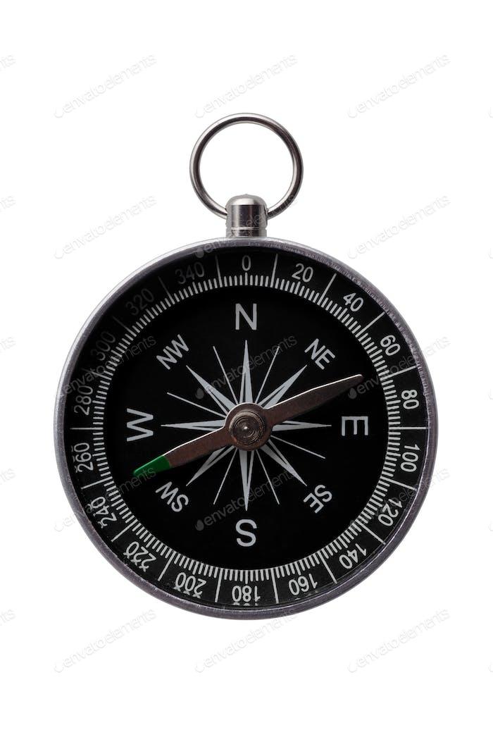 Round steel compass