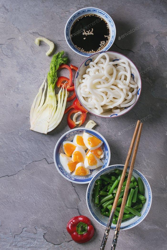 Ingredientes para alevines