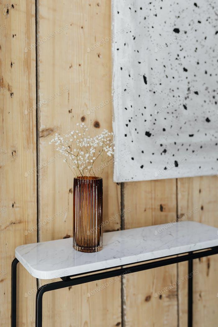 Clean Scandinavian interior design