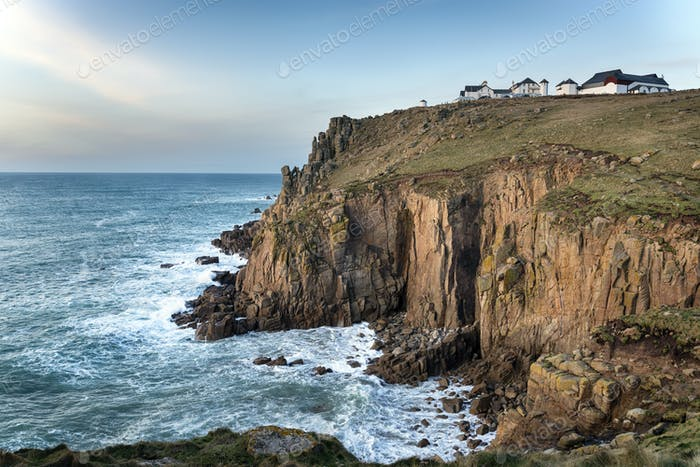 Lands End in Cornwall