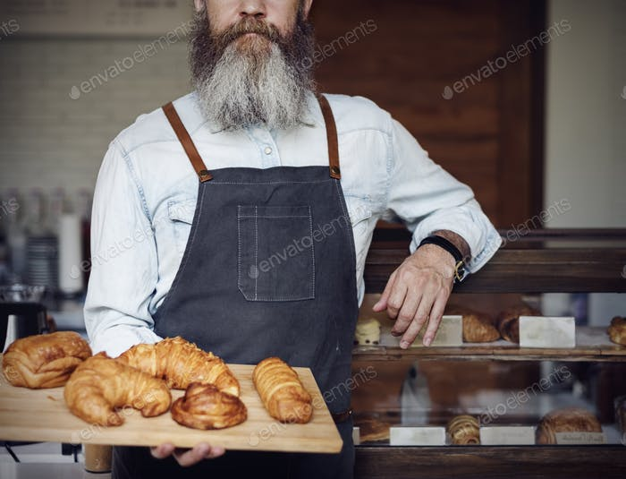 Croissant Carbohydrates Bake Cafe Nutrition Concept