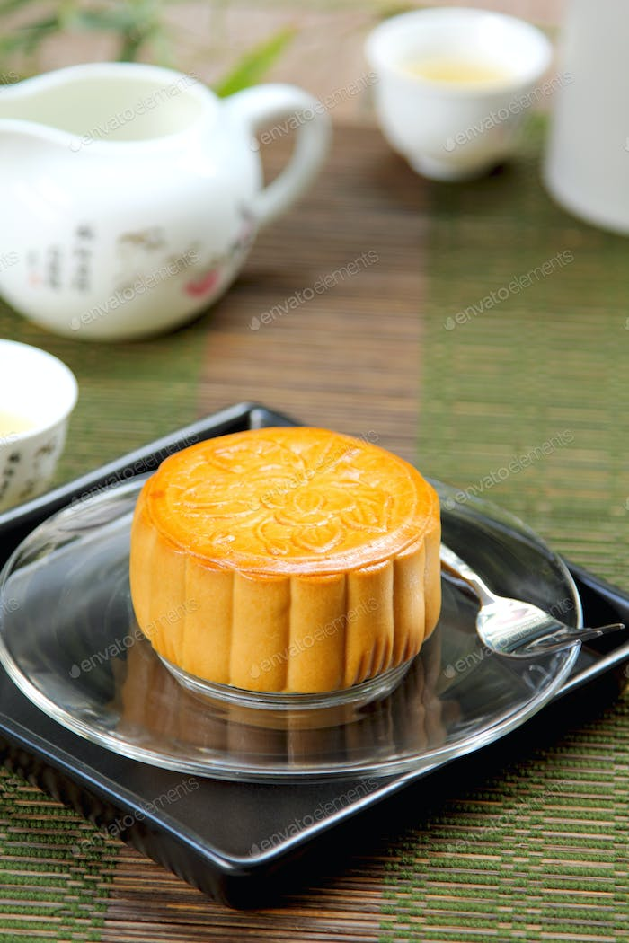 Chinese pastry [ Moon cake ]