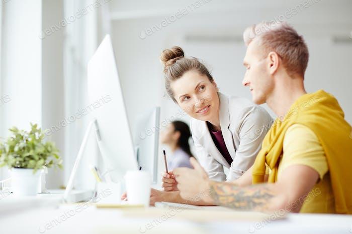 Creative staff