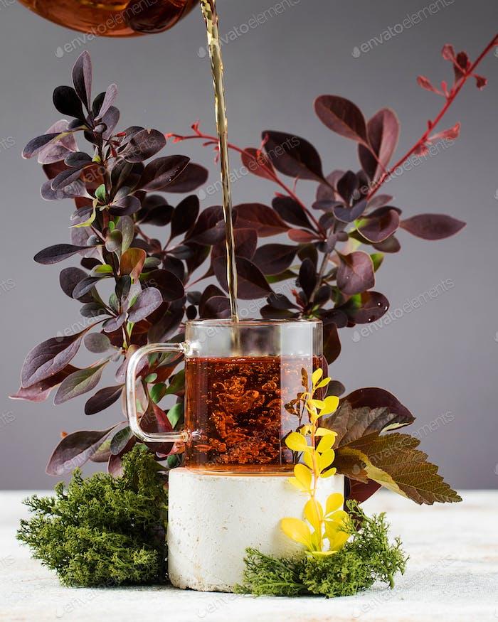 Autumn or herbal tea.