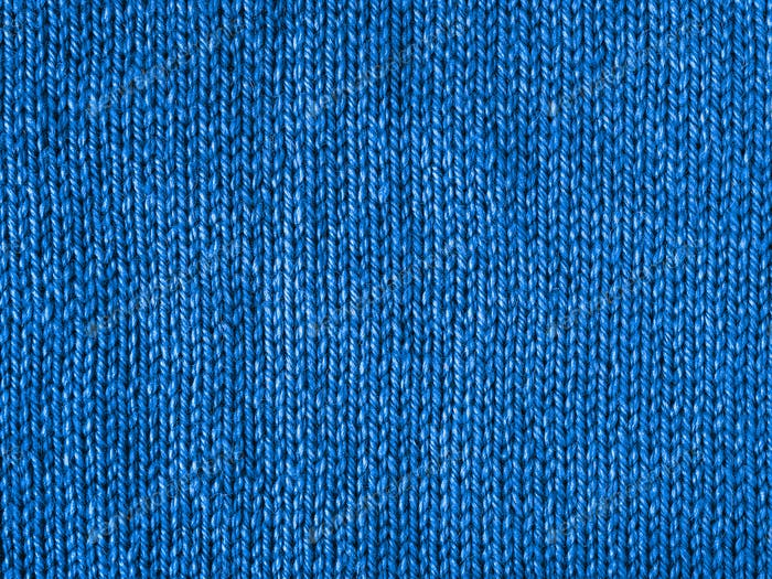 Blue knitted Jersey as color 2020 background
