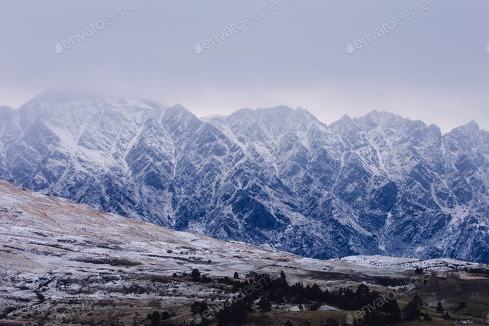 Fresh snow at Remarkables in Queenstown NZ
