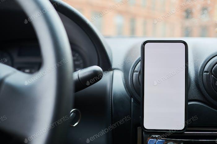 Smartphone App in Car