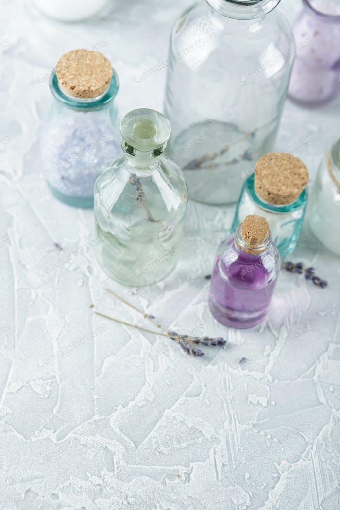 Aromatic oils and salt