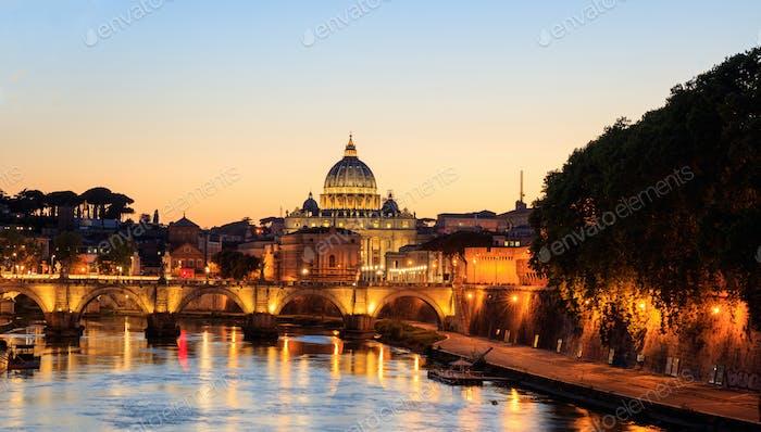Saint Peters Basilika - Vatikan - Rom, Italien