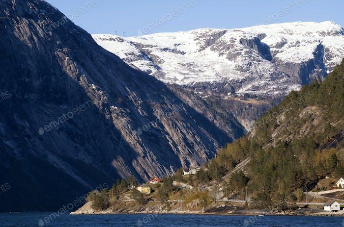 The Hardangerfjord near Eidfjord