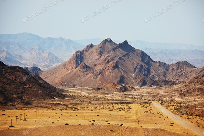 Mountains in Namibia