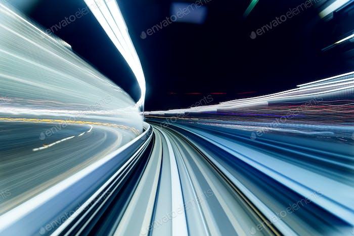 Blur tunnel