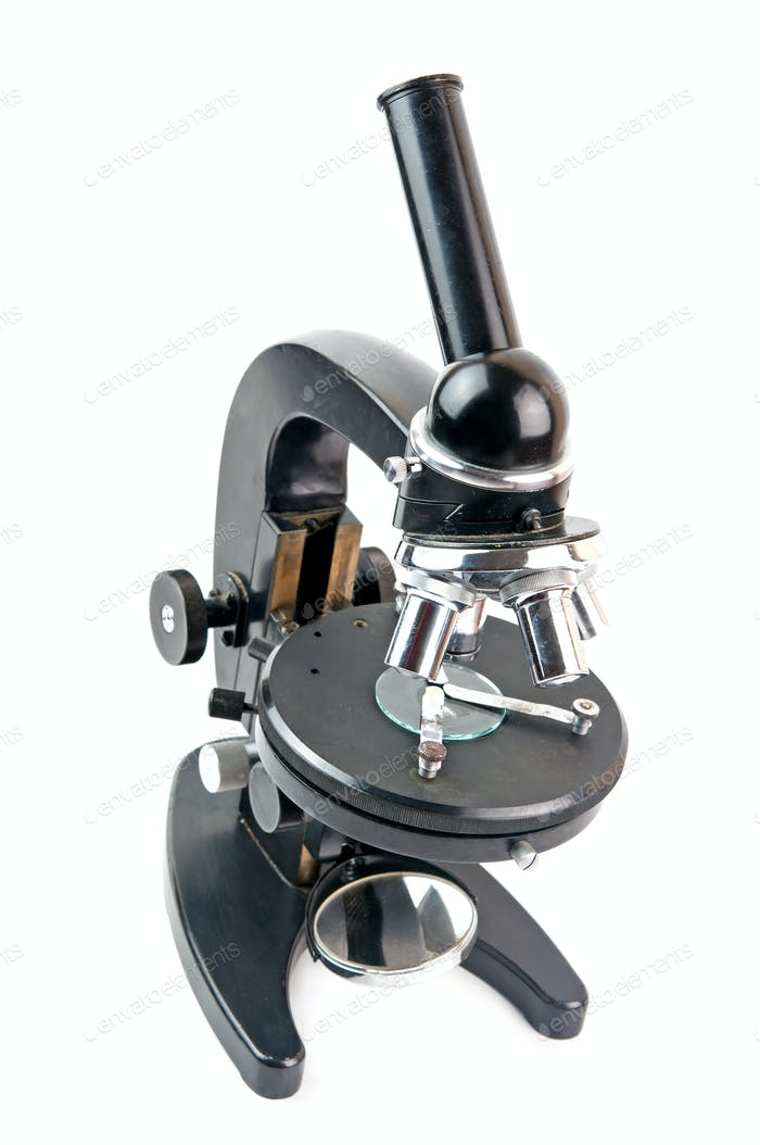 old microscope