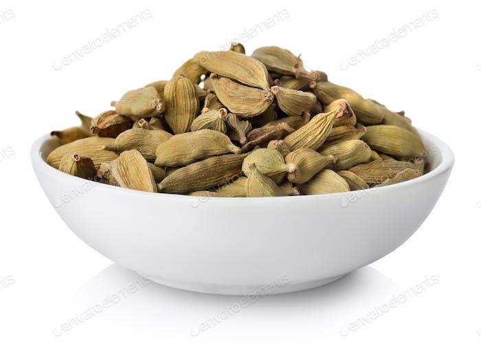 Cardamom in plate